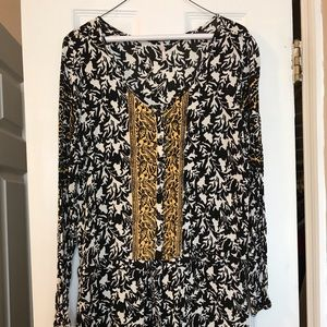 "Free People Other - ""Free People"" paisley boho drop waist romper"